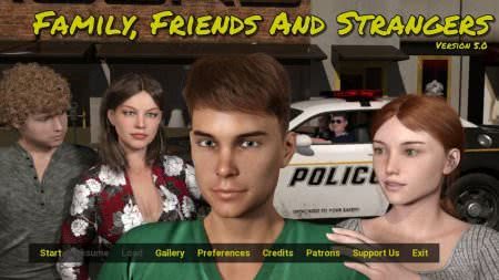 Family, Friends and Strangers Game Walkthrough Download for PC