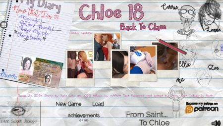 Chloe18 - Back To Class Game Walkthrough Download for PC