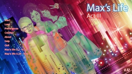 Max's life 0.33 Game Walkthrough Download for PC