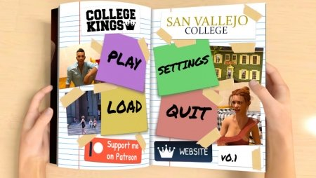 College Kings 0.7.1 Game Walkthrough Download for PC