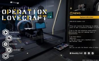 Fallen Doll: Operation Lovecraft 0.34 Game Walkthrough Download for PC